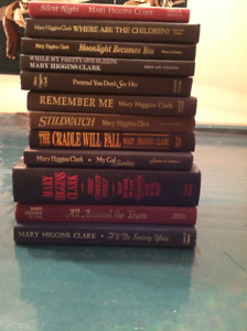 For the reader on your Christmas list - Mary Higgins Clark