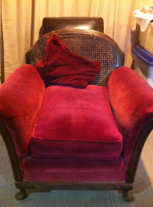 Antique living room chair