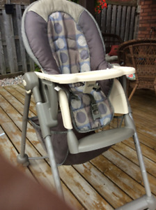 Eddie Bauer Deluxe High Chair