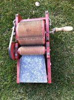 Antique Vintage Wool Carder