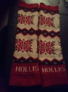Hollister leg warmers