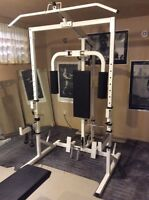 Olympic Home Gym Set w/ Weights