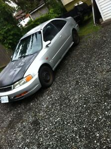 2000 Honda Civic front end swap Acura EL