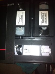 Terminator VHS collectors edition 3 tapes London Ontario image 4