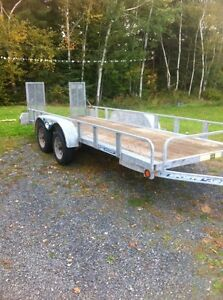 "Remorque utilitaire 54"" x 14' utility trailer"