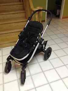 Baby Jogger City Select (double) Stroller - Black