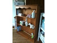 Solid Pine bookcase (delivery available) dresser