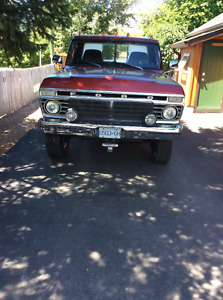 1974 FORD F250 4x4