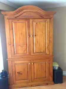 Rustic Arch-top Armoire - perfect for cottage or home!