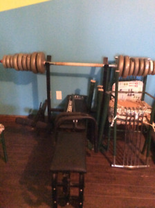 Weights and Bench Press