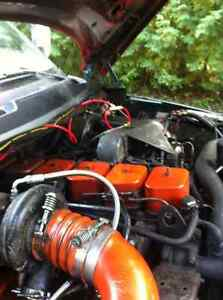 12 valve twin turbo just the motor