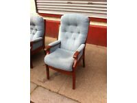 Gorgeous 2 seater + chair