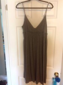 Gray knit dress XL