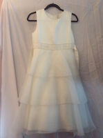 First Communion/Confirmation/Semi Formal - Ivory Dress
