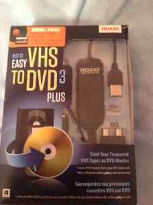Roxio Easy VHS to DVD 3 plus (new)