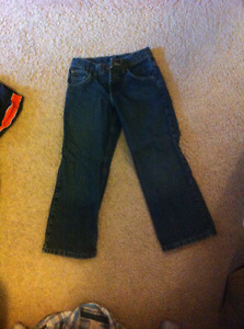Wranglar boys jeans size 8 regular