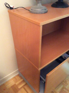 Beautiful wooden storage unit for sale
