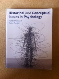 Historical and Conceptual Issues in Psychology by Marc Brysbaert & Kathy Rastle