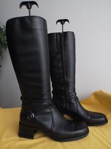Bottes de qualité, cuir véritable/Quality genuine leather boots