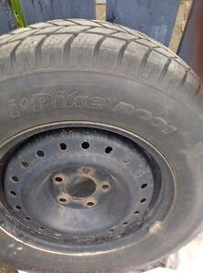 Winter tires &Rims Prince George British Columbia image 2