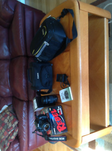 Canon Rebel T3i Camera and Extra Lens