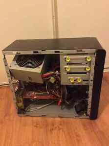 1 Desktop pc tower with 1 DVD Rom & CD RW disk drive $50
