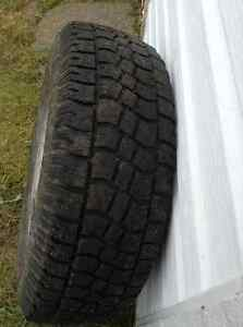 """4 snow tires on 16"""" steel Toyota rims to fit Tacoma St. John's Newfoundland image 1"""