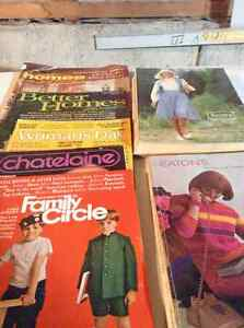 Magazines and catalogues