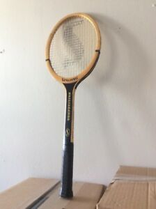 Spalding hand crafted wooden tennis racket $30