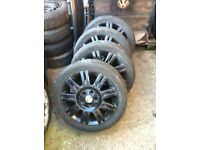 """17"""" 5x108 pcd alloy wheels fit fords etc transit connect"""