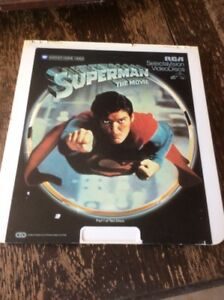 Early Superman movie disc