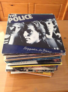 lot de 63 disque vinyl comme neuf!