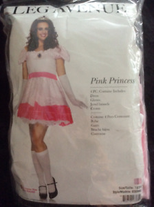 Pink Princess Costume - Size 1X /2X Mint Condition!!
