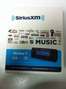 Sirius xm stratus 7 for sale almost brand new in box