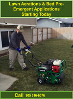 Lawn Aeration Over Seeding Fertilizing 2017 Summer Contracts