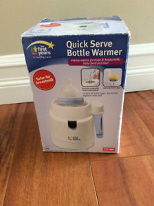 Quick Serve Bottle Warmer (the first years)