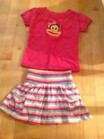 Paul Frank - toddler girls set - size 4T