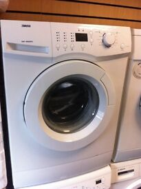 Zanussi 6kg 1400 spin washing machine