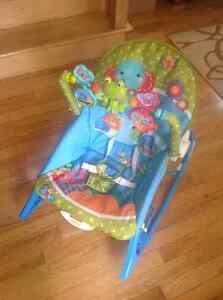Fisher Price musical swing, chair