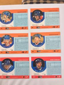 Série complète cartes hockey Pro-Set 90-91