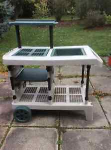 Movable Gardening Table