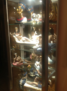 Figurines Nadal Collection de 10 Figurines Egyptian Or 24 carats