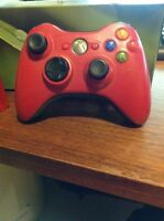 25$ Xbox controller RED no cord