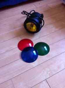 Spot lumineux 4 couleur