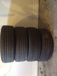SET OF 4 TIRES ON RIMS FOR SALE
