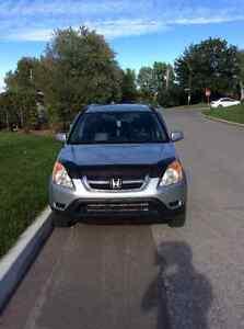 2002 Honda CR-V EX avec cuir VUS