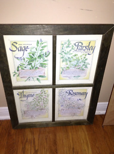 Spices framed print for sale
