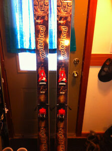 Fat ski, powder ski, touring ski