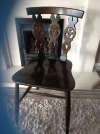 Lots of lovely Antiques ERCOL / Wot not / antique chair