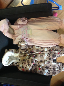 0-3 month snow suits AND car seat cover